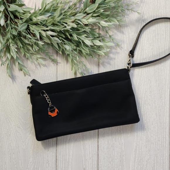 Coach Handbags - Coach microfiber large wristlet mini bag